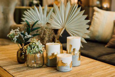 3 Świece naturalne Luvo Candles