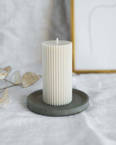 Naturalna świeca